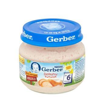 【Gerber】嘉寶 Babyfood 純鮮雞肉泥 80g X 12罐