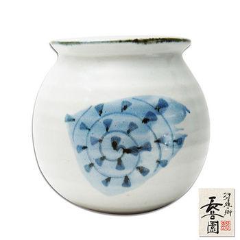 【日本長谷園伊賀燒】陶罐(螺紋款)
