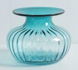 彩色玻璃花瓶花器美式客廳檯面插花器裝飾擺件03
