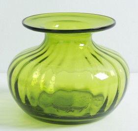 彩色玻璃花瓶花器美式客廳檯面插花器裝飾擺件01