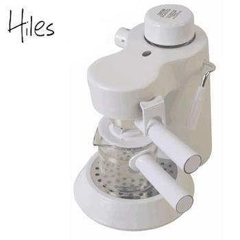 Hiles 義式高壓蒸氣咖啡機(HE-301)(典雅白)