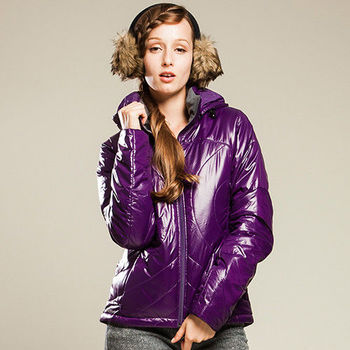【JORDON】女款 PrimaLoft 中空科技棉 時尚外套(804)