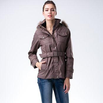 【JORDON 橋登】女款時尚保暖PrimaLoft外套(802)