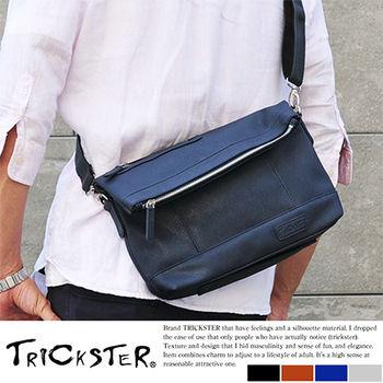 【TRICKSTER】日本品牌 斜背包 折疊包 亮面B5 小尺寸 側背包 2WAY手拿包 都會【tr90】
