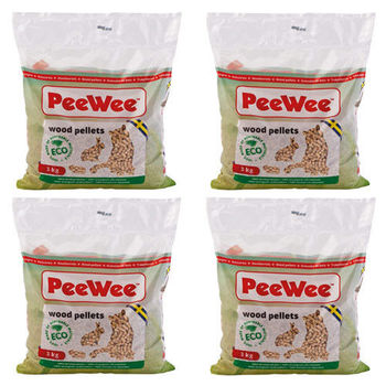 【PeeWee】必威 強效松木砂/貓砂 3公斤 X 4包