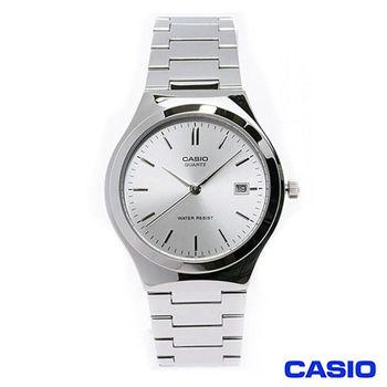 CASIO卡西歐 時尚商務日曆男士指針腕錶 MTP-1170A-7A