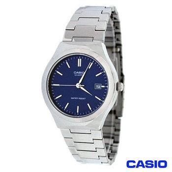 CASIO卡西歐 時尚商務日曆男士指針腕錶 MTP-1170A-2A