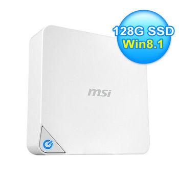 【MSI 微星 】Cubi-074 SSD雙核電腦 win8.1