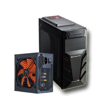 【熱銷】 XIGMATEK 500W 80+Soundwave 雙拼組