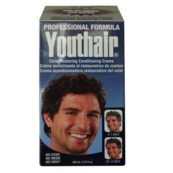 New! 新包裝美國進口Youthair優絲黑美髮乳霜(3.75oz*2盒)