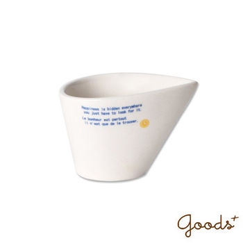 【goods+】簡約和風 水滴形陶瓷醬汁杯/牛奶杯/調料杯_PU01