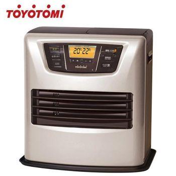 【日本製 TOYOTOMI】LC-L43C-TW(銀色) 煤油電暖爐