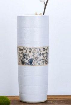 陶瓷簡約現代客廳落地大花瓶家居飾品工藝品花插02