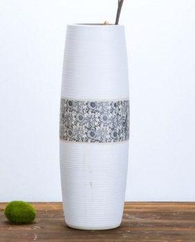 陶瓷簡約現代客廳落地大花瓶家居飾品工藝品花插01