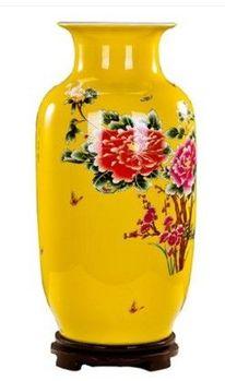景德鎮陶瓷歐式落地花瓶客廳電視櫃旁大擺件01