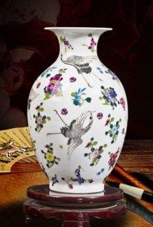 景德鎮創意小花瓶現代家居裝飾工藝品12