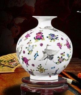 景德鎮創意小花瓶現代家居裝飾工藝品11