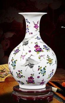 景德鎮創意小花瓶現代家居裝飾工藝品09