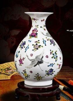 景德鎮創意小花瓶現代家居裝飾工藝品06