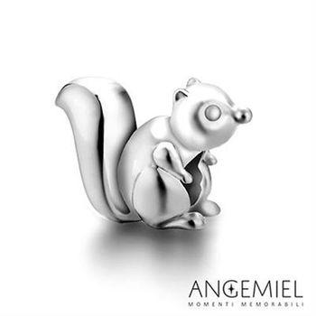 Angemiel安婕米 925純銀珠飾 花栗鼠  串珠