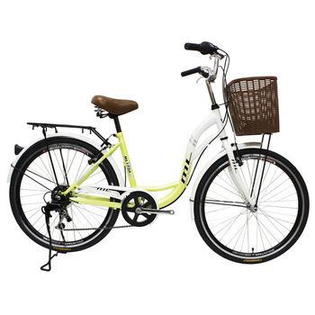 BIKEONE M11 SHIMANO變速 24吋7速 韓版淑女自行車