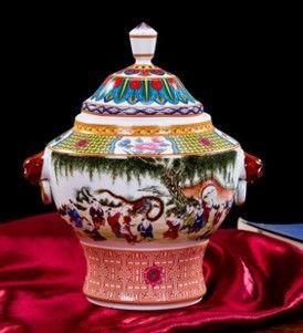景德鎮陶瓷器歐式小花瓶擺件創意家居擺設01