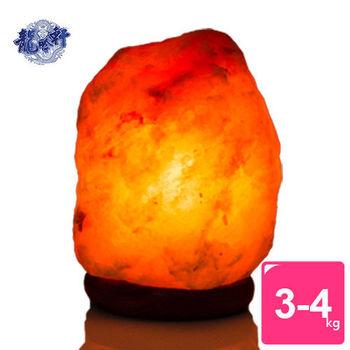 【龍吟軒】 精選天然寶石玫瑰鹽燈 (3-4kg)
