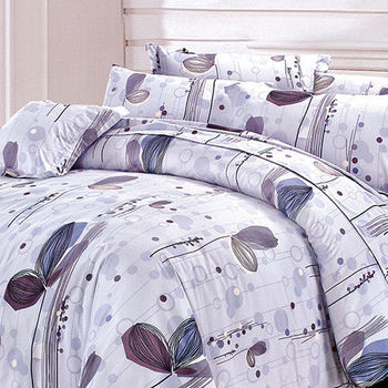 【Victoria】夢幻 柔之鄉 單人四件式床罩組