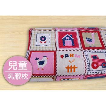 【Victoria】可愛的家 兒童工學型天然乳膠枕