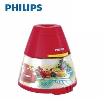Philips飛利浦 迪士尼魔法燈-LED投影燈- 汽車總動員