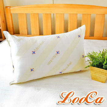 LooCa 美國Microban抗菌羊毛枕1入
