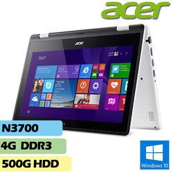 ACER宏碁R3-131T-P9YB 11.6吋N3700 4G記憶體500G硬碟多點觸控翻轉輕薄筆電
