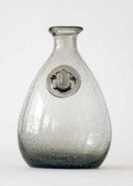 煙灰色氣泡花瓶客廳透明玻璃花瓶花器裝飾工藝品擺件03