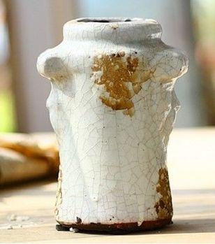 陶瓷多肉花盆花瓶花器老樁花盆做舊歐式地中海
