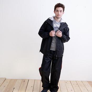 Outperform日系刷毛夾克款-質感黑-單衣夾克