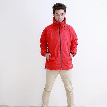 Outperform日系刷毛夾克款-風動紅-單衣夾克