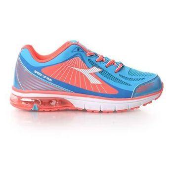 【DIADORA】男女大童氣墊慢跑鞋-男童 女童 童鞋 慢跑 水藍粉橘