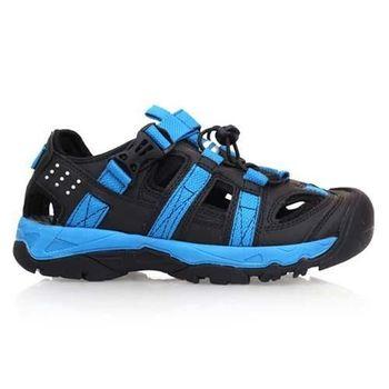 【DIADORA】男運動涼鞋-涼鞋 護趾 魔鬼氈 排水  黑藍