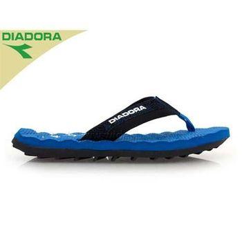 【DIADORA】男涼拖鞋 海灘拖  藍黑