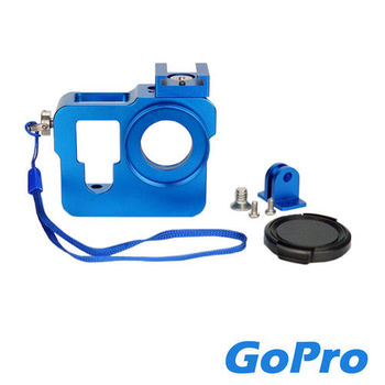 CityBoss GOPRO HERO 3/4 外框固定架 藍