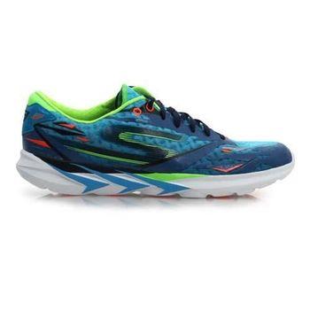 【SKECHERS】GO MEB SPEED 3 男慢跑鞋 路跑 附鞋帶 湖水藍綠