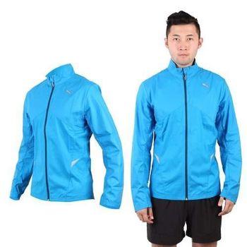【PUMA】NIGHTCAT 男外套- 立領 風衣 慢跑 路跑 寶藍銀