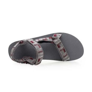 【TEVA】ORIGINAL UNIVERSAL 男織帶涼鞋 復古 運動 休閒 灰