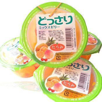 【果之家】日本綜合水果口味果凍一箱6入