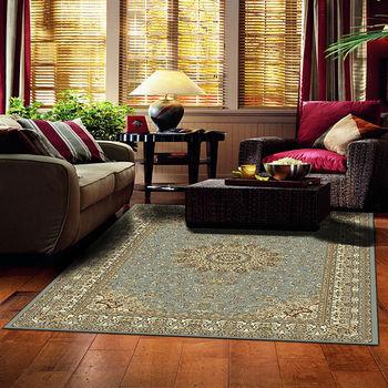 【范登伯格】渥太華高密度仿羊毛地毯-永恆(灰藍)-170x230cm   仿羊毛毯
