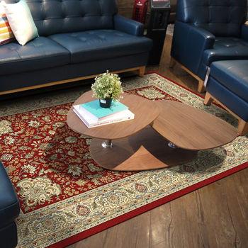 范登伯格 渥太華高密度仿羊毛地毯-星綻(紅)-170x230cm   仿羊毛毯