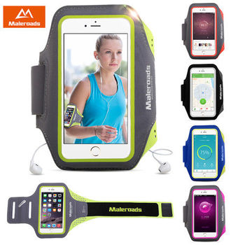 Maleroads 防汗 透氣 加大款5.5吋手機通用型 運動臂帶/臂包 (原裝包裝)