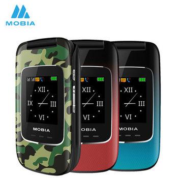 【摩比亞 MOBIA】M700 雙螢幕2.4吋3G折疊手機(公司貨)