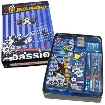 極速足球豪華文具禮物盒 (外銷日本款)