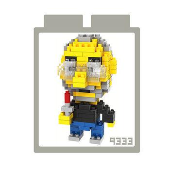 LOZ 鑽石積木【可愛卡通系列】9333-賈伯斯  益智趣味 腦力激盪